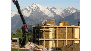 Švicarska - hotel od balirane slame