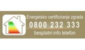 Energetsko certificiranje 200 javnih zgrada vrijednosti od oko 400 milijuna kuna